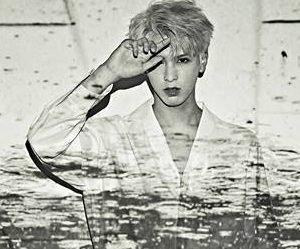 """Snuper's Taewoong """"Rain of Mind"""" promotional picture."""