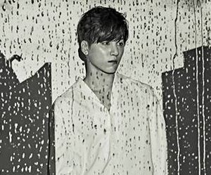 """Snuper's Woosung """"Rain of Mind"""" promotional picture."""