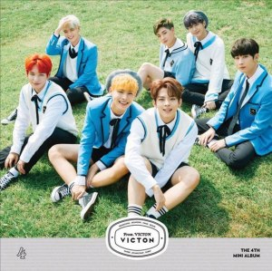 "Album art for Victon's ablum ""From Victon"""