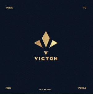 "Album art for Victon's album ""Voice To New World"""