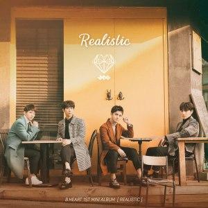 "Album art for B.Heart's album ""Realistic"""