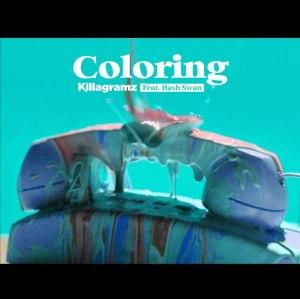 """Album art for Killagramz's album """"Coloring"""""""