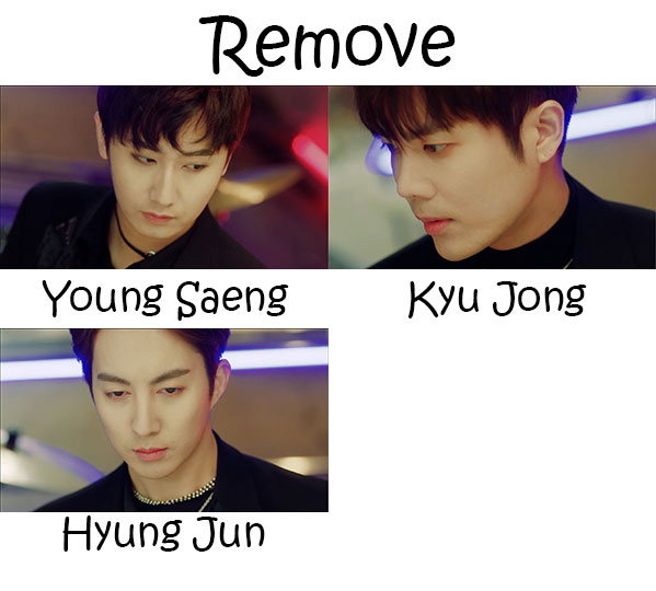 "Album art for SS301's album ""Remove"""