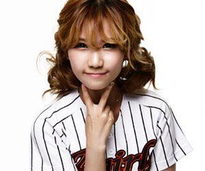AGirl's former member Minseung.