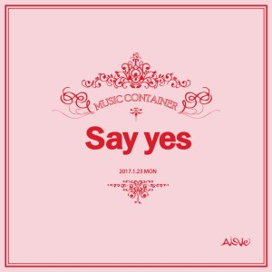 "Album art for Aisle's album ""Say Yes"""