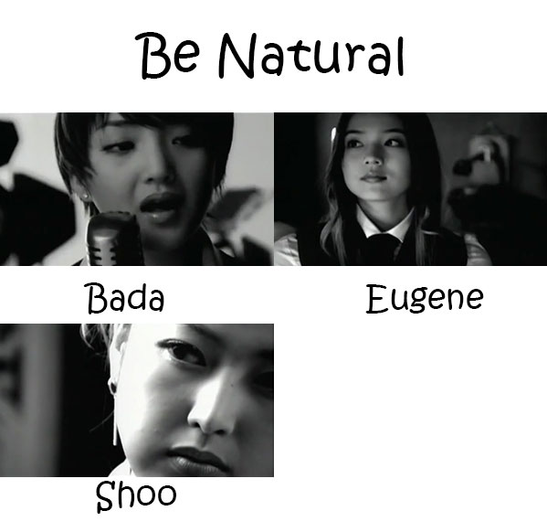 "The members of S.E.S in the ""Be Nautral"" MV"