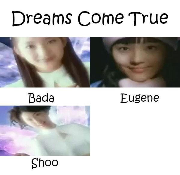 """The members of S.E.S in the """"Dreams Come True"""" MV"""