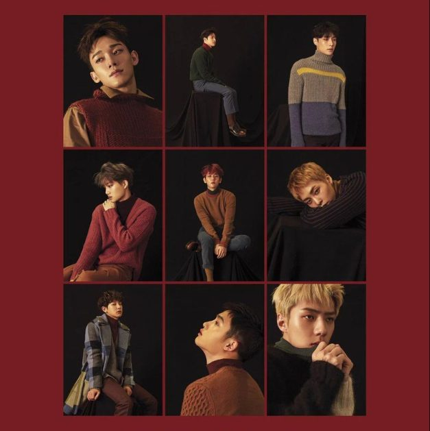 "EXO's ""For Life"" promotional picture."