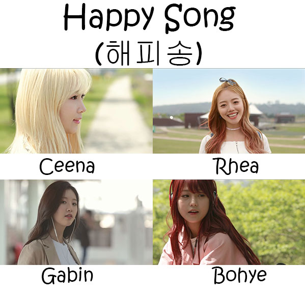"The members of Live High in the ""Happy Song"" MV"