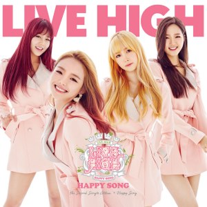 "Album art for Live High's album ""Happy Song"""
