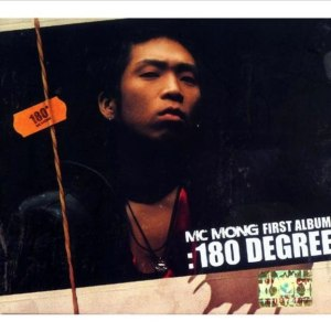"Album art for MC Mong's album ""180 Degree"""