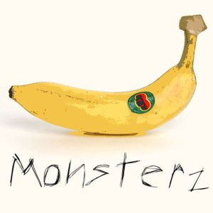 "Album art for Monsterz album ""Banana"""