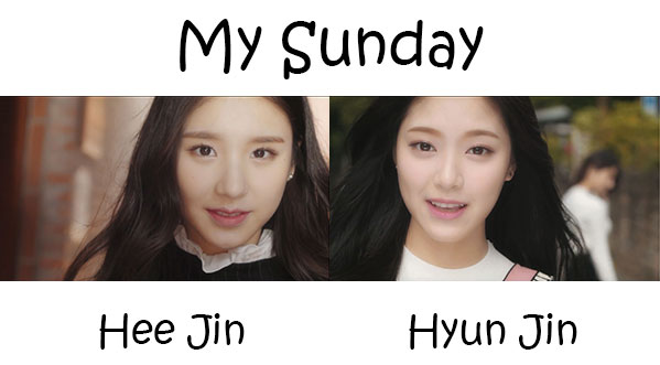 """The members of LOONA in the """"My Sunday"""" MV"""