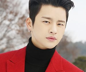 "Seo In Guk's ""BeBe"" promotional picture."
