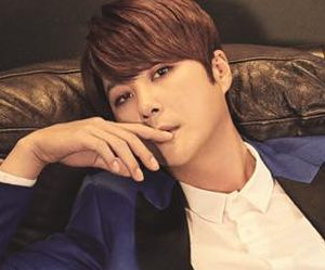 "Shinhwa's Hyesung ""Unchanging Pt. 2 Touch"" promotional picture."