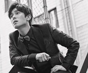 "Shinhwa's Dongwan ""Unchanging Pt. 2 Touch"" promotional picture."