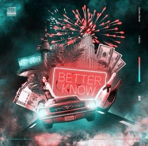 "Album art for Young Cream's album ""Better Know"""
