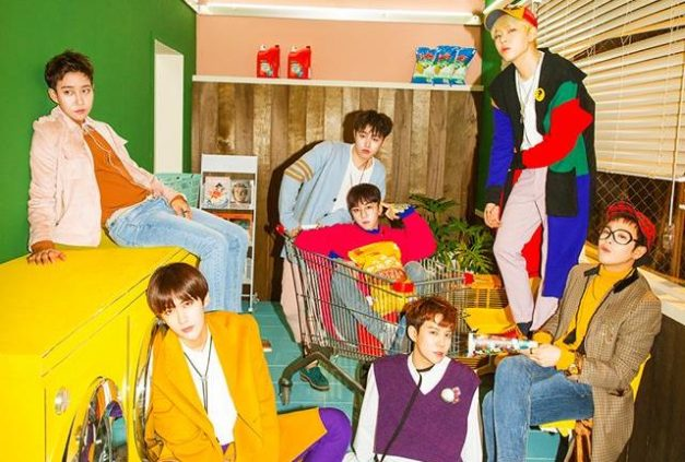 "Block B's ""Yesterday"" promotional picture."