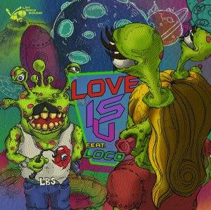 """Album art for Laybacksound's album """"Love Is U"""""""