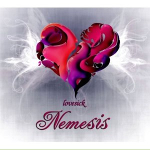 "Album art for Nemesis's album ""Lovesick"""