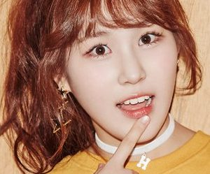 Pristin's Yehana promotional picture.