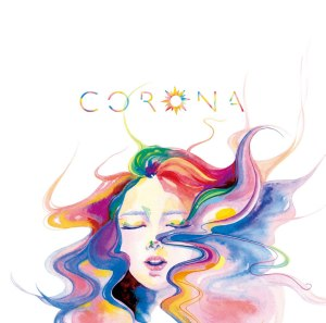 "Album art for Corona's album ""Shine"""