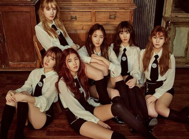 "GFriend's ""The Awakening"" promotional picture."