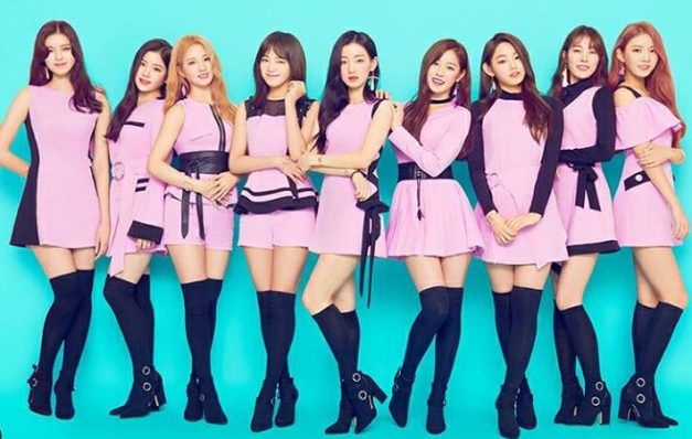 "Gugudan's ""Narcissus"" promotional picture."