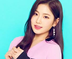 "Gugudan's Hyeyeon ""Narcissus"" promotional picture."