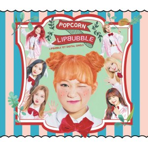 "Album art for Lipbubble's album ""Popcorn"""