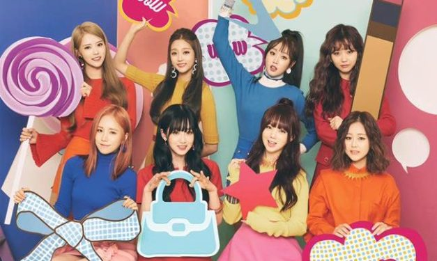 "Lovelyz' ""R U Ready"" promotional picture."