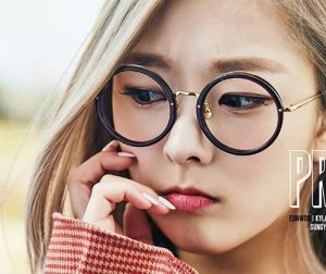 "Pristin's Eunwoo ""Hi! Pristin"" promotional picture."