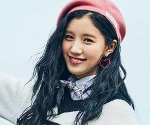 "Pristin's Xiyeon ""Hi! Pristin"" promotional picture."