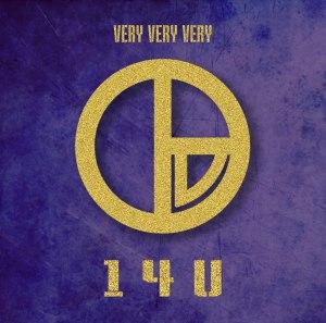 "Album art for 14U's album ""Very Very Very"""