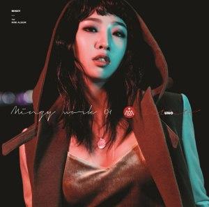 "Album art for Minzy's album ""Minzy Work 01 Uno"""
