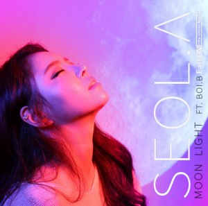 "Album art for Seol.A's album ""Moonlight"""
