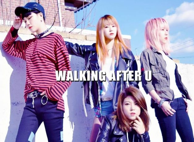 """Walking After U's """"Arirang"""" promotional picture."""