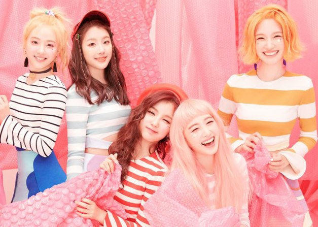 "ELRIS's promotional picture for ""Color Crush"""