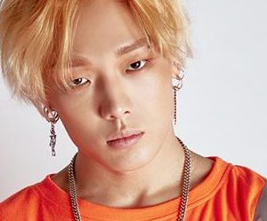 "iKON's Bobby ""New Kids: Being"" promotional picture."