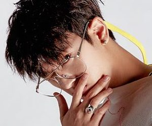 "iKON's Chan ""New Kids: Being"" promotional picture."