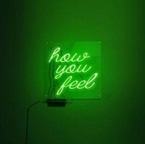 "Album art for $IM$ / SIMS's album ""How You Feel"""