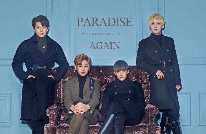 "Paradises promotional picture for ""Again"""