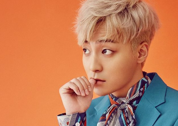 "Roy Kim's ""Blossom"" promotional picture."