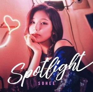 """Album art for So Hee's album """"Spotlight"""""""