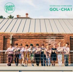 "Album a'rt for Golden Child's album ""Gol-Cha"""