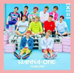 """Album art for Wanna One's album """"1X1=1 (To Be One)"""""""