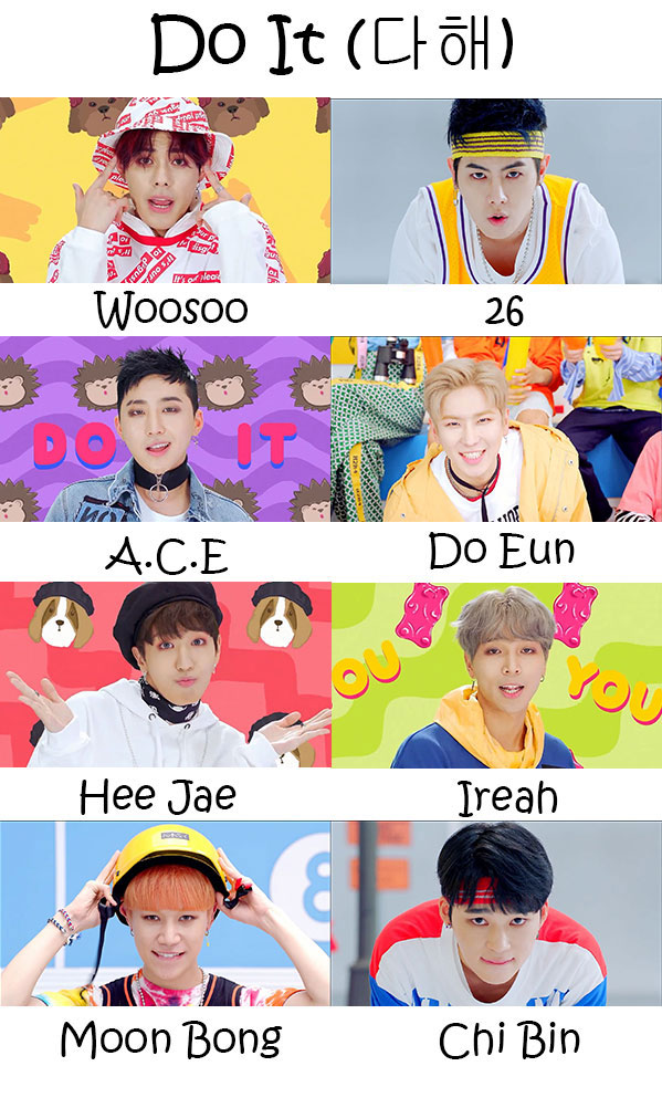 """The members of MASC in the """"Do It"""" MV"""