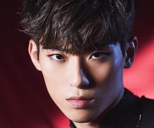"BLK's Inho promotional picture for ""Into BLK Pt 1 Hero"""