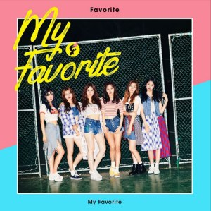 "Album art for Favorite's album ""My Favorite"""