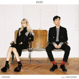 """Album art for Hanhae's album """"Eyes"""""""